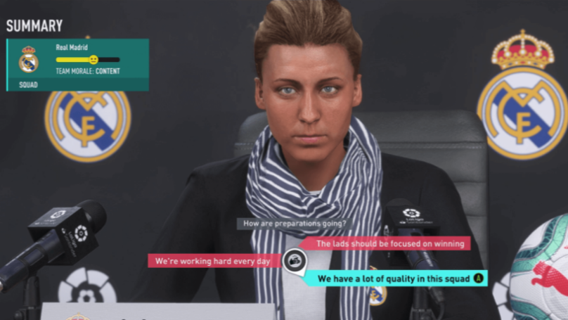 EA Sports releases new and improved career mode for the FIFA 20