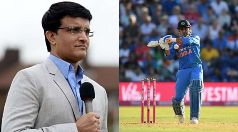 Sourav Ganguly passes huge statement on MS Dhoni's omission from T20I squad vs South Africa