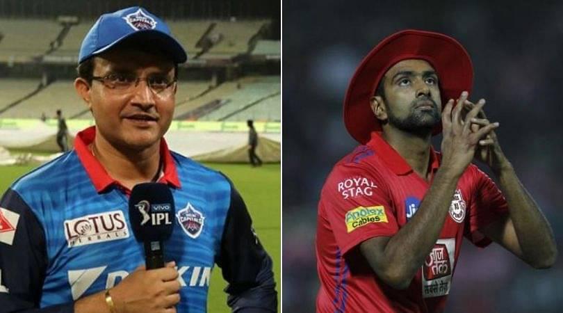 Ravi Ashwin to Delhi Capitals: Sourav Ganguly Ganguly expresses interest in Kings XI Punjab captain