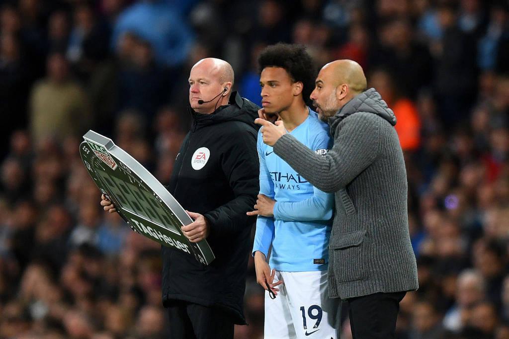 Man City News: Pep Guardiola talks about Leroy Sane's proposed Bayern Munich move