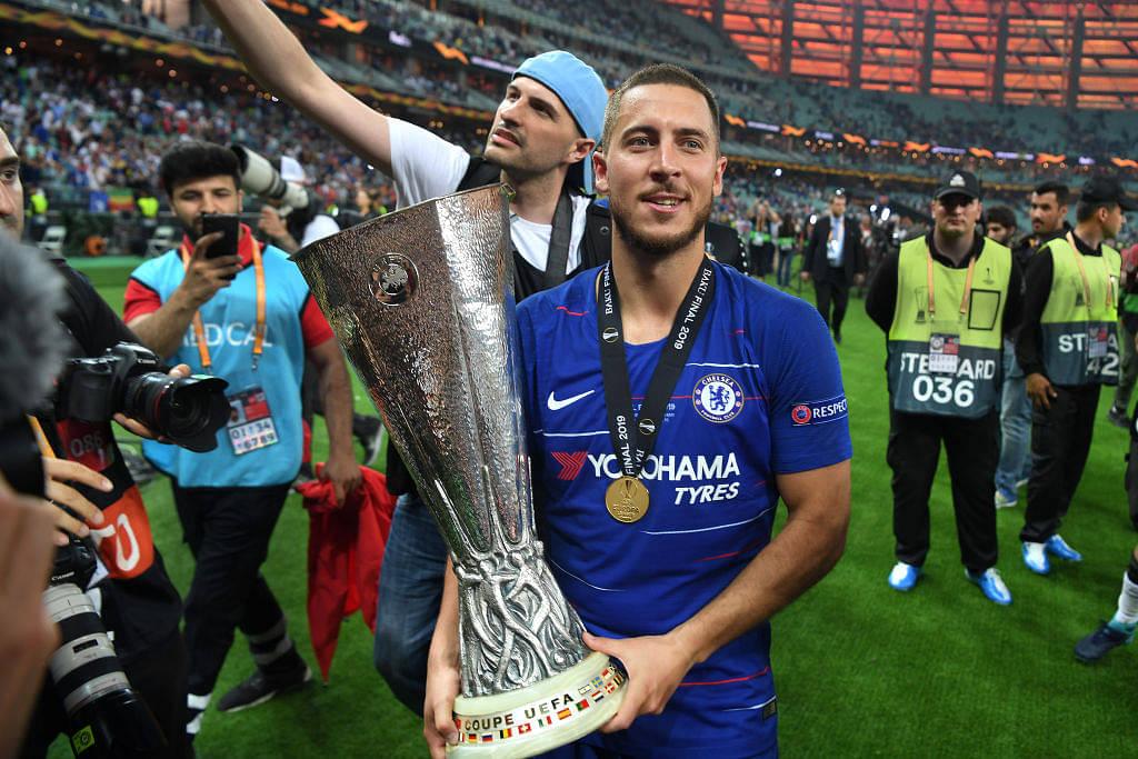 Eden Hazard crowned Europa Player of the season