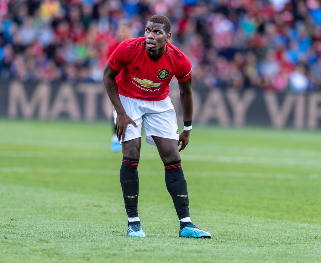 Ryan Giggs suggests kicking Paul Pogba in training to get him in line