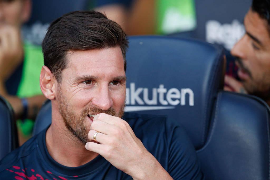 Lionel Messi teases Adidas Euro 2020/21 Kit
