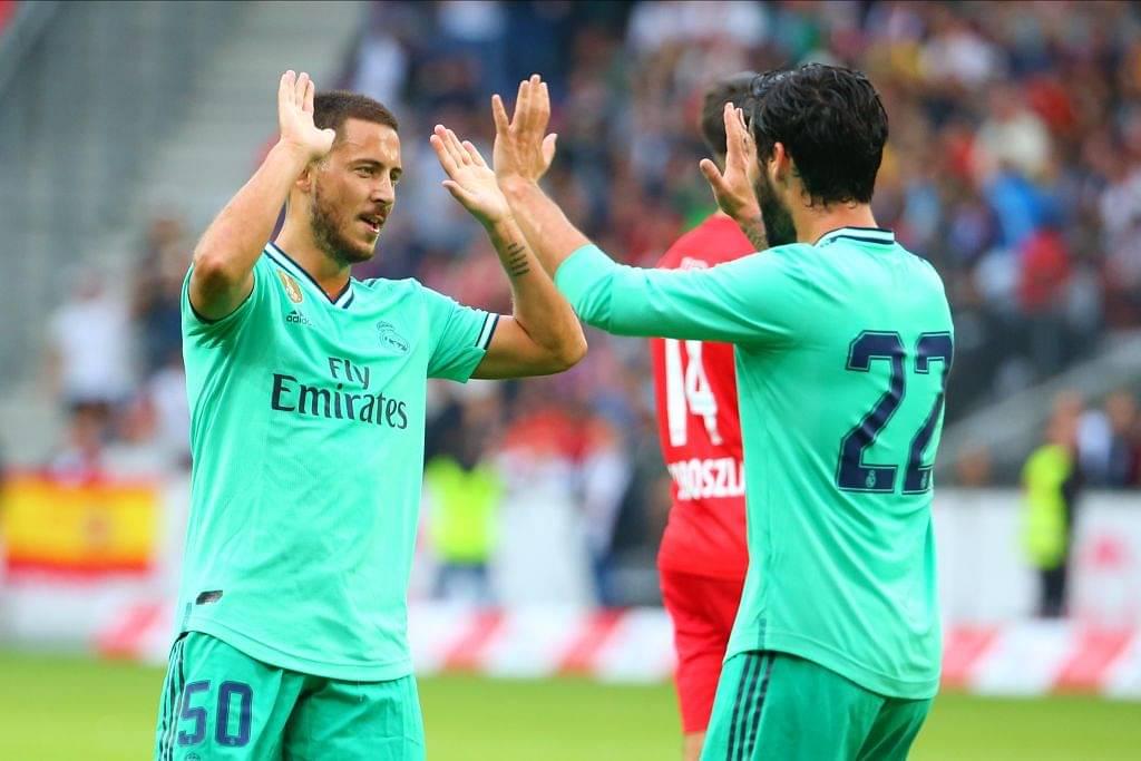 Eden Hazard Goal Vs Salzburg: Watch Real Madrid new signing open the deadlock in a friendly