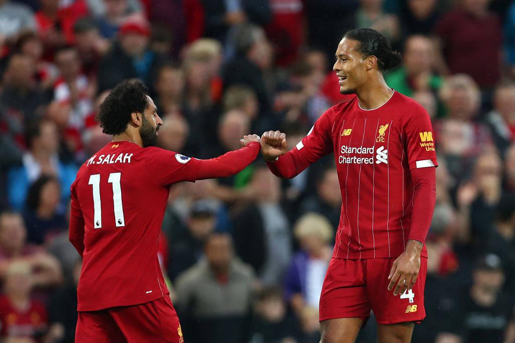Virgil Van Dijk Goal Vs Norwich City Watch Liverpool Defender Scoring Through Header Without Even Jumping The Sportsrush