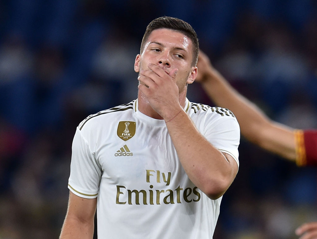 Luka Jovic could be on his way out of Real Madrid after arriving 2 months ago for £62 million