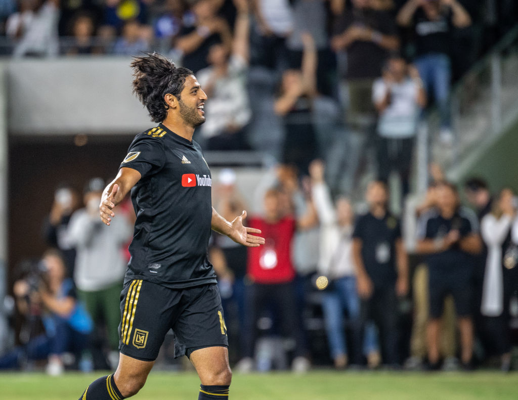 Carlos Vela scores a filthy goal for Los Angeles FC by outstripping three defenders