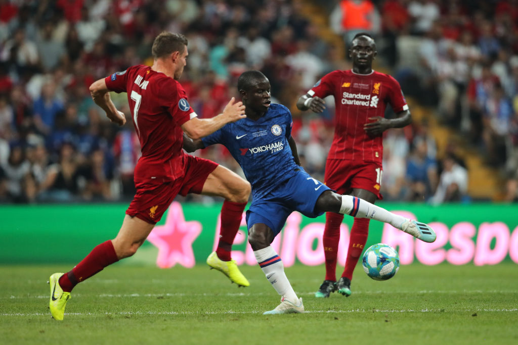 N'Golo Kante humiliates James Milner with his brutal nutmeg in UEFA Super Cup