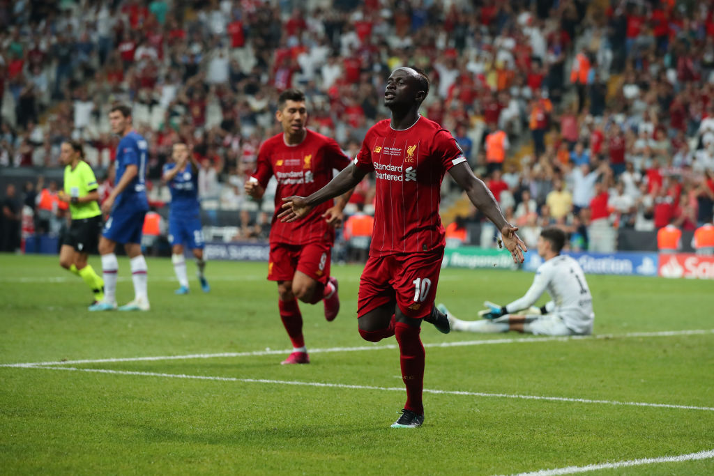 Sadio Mane goal vs Chelsea: Liverpool Star scores an important equaliser in the UEFA Super Cup minutes after half-time