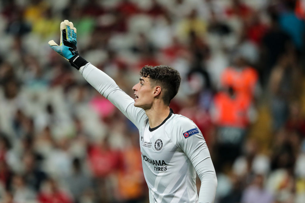 Watch: Kepa's double save takes Chelsea to Extra time against Liverpool in the UEFA Super Cup