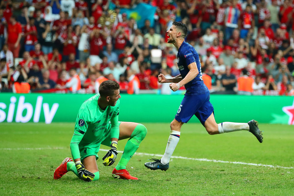 Chelsea level scores with Liverpool through Jorginho's overtime penalty