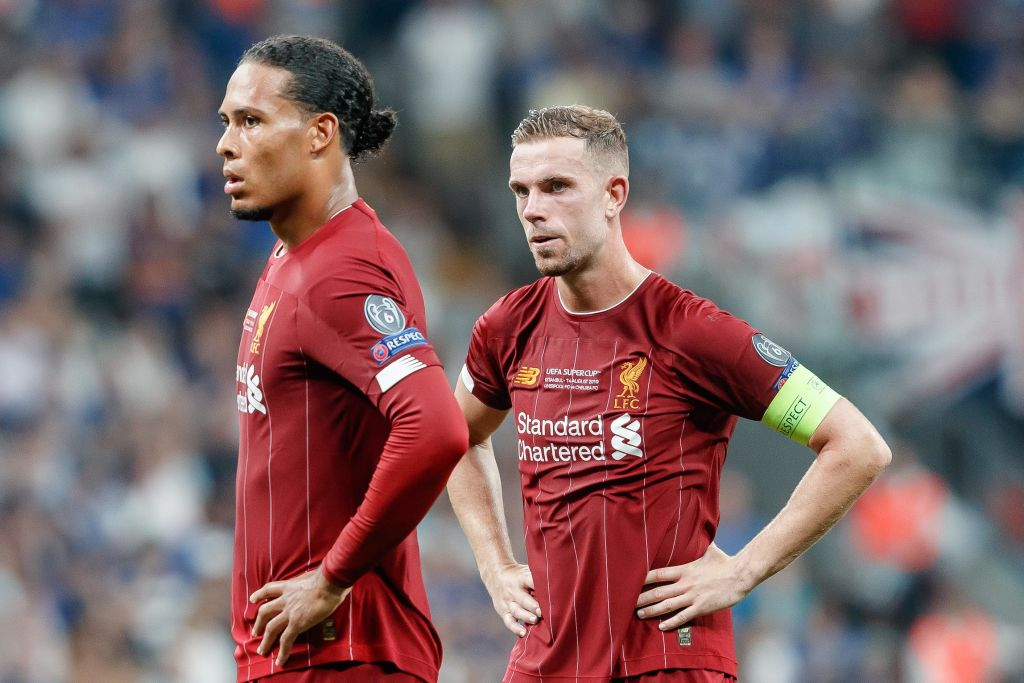 Jordan Henderson refuses to take captain's armband from Virgil Van Dijk