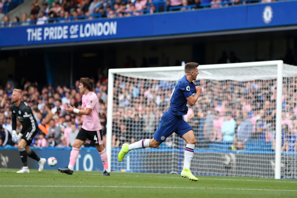 Mason Mount goal vs Leicester City: Watch Chelsea's young forward steal a goal against the Foxes   Premier League