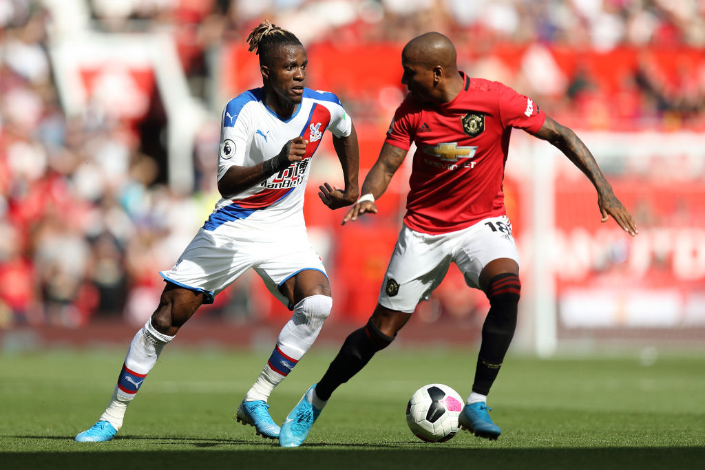 Man United Vs Crystal Palace: Wilfried Zaha absolutely owned Ashley Young at Old Trafford