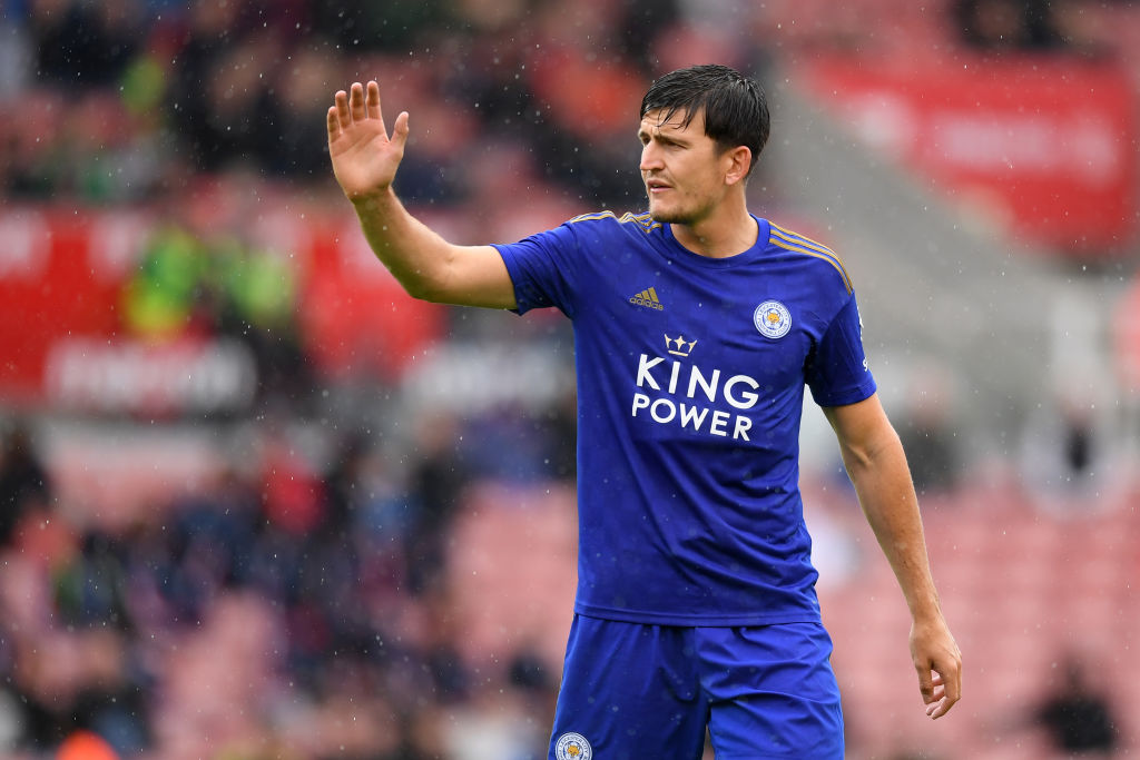Harry Maguire Man Utd medical : Manchester United's new signing arrives for the medical