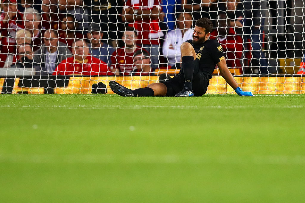 Alisson Injury Update: Liverpool goalkeeper estimated return date known after calf tear