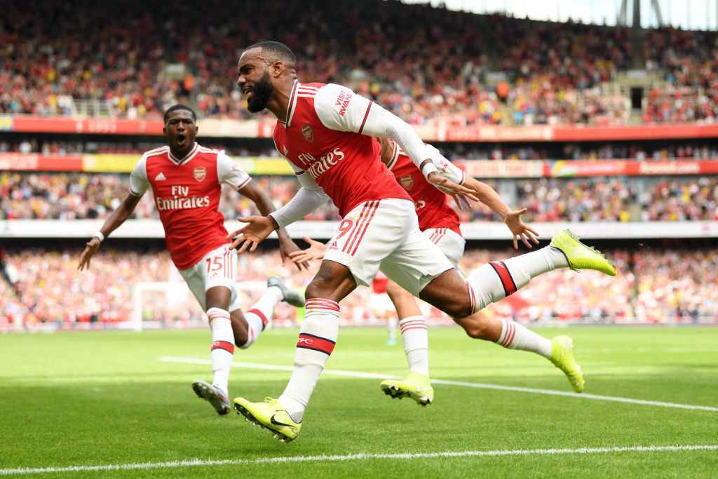 Alexandre Lacazette goal vs Burnley: Watch Arsenal Striker hustle for a goal against the Clarets and rush to celebrate with Aubameyang.