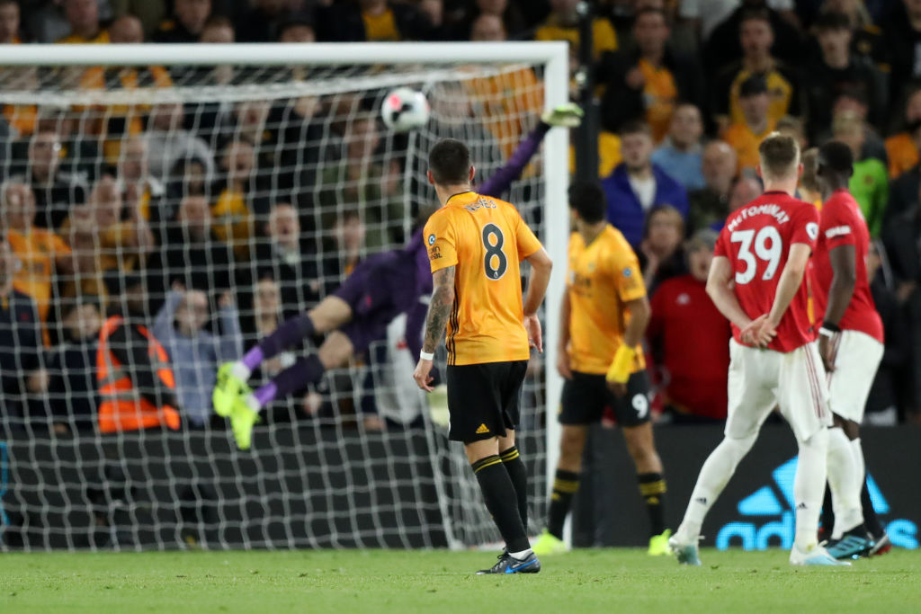 Ruben Neves goal Vs Manchester United: Watch Wolves equalize the score by 1-1