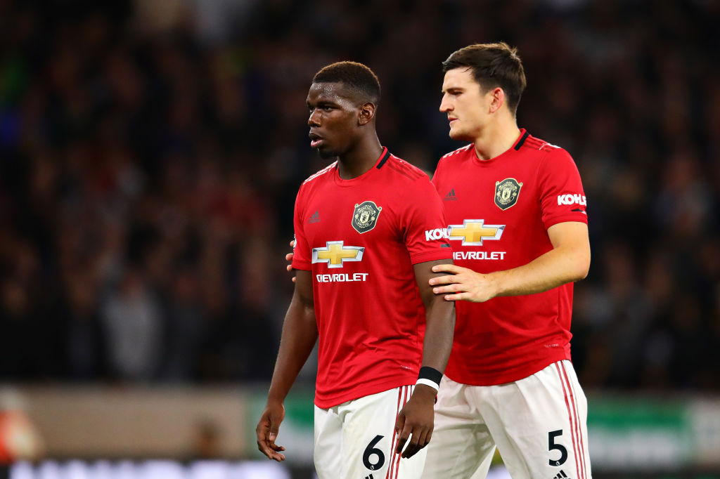 Harry Maguire condemns Twitter trolls who racially abused Paul Pogba