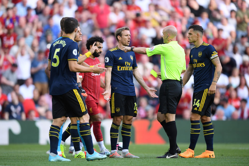 Arsenal Vs Liverpool: David Luiz shirt pull to Mohamed Salah gives penalty to the Reds