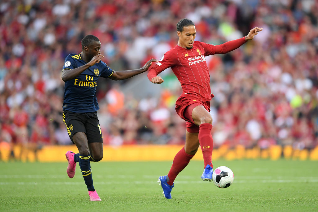Virgil Van Dijk: Arsenal new signing Nicolas Pepe ends Van Dijk's incredible streak of 50 games