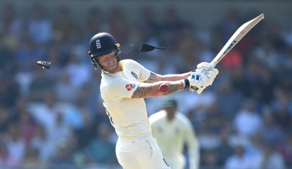 Watch: Ben Stokes gets hit on the helmet by vicious Hazlewood bouncer