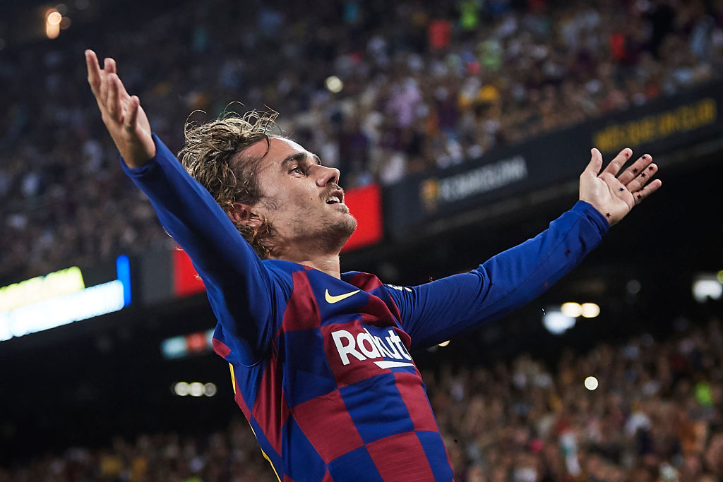 Antione Griezmann goal Vs Real Betis: Watch Barcelona star scoring a marvelous goal to make Catalans win