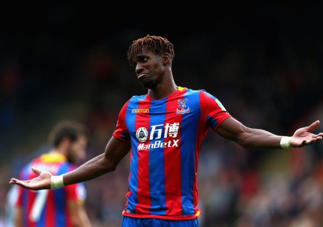 """""""I would think he still has a lot of ambition"""": Roy Hodgson Admits Wilfred Zaha Wants To Switch To Greener Pastures"""