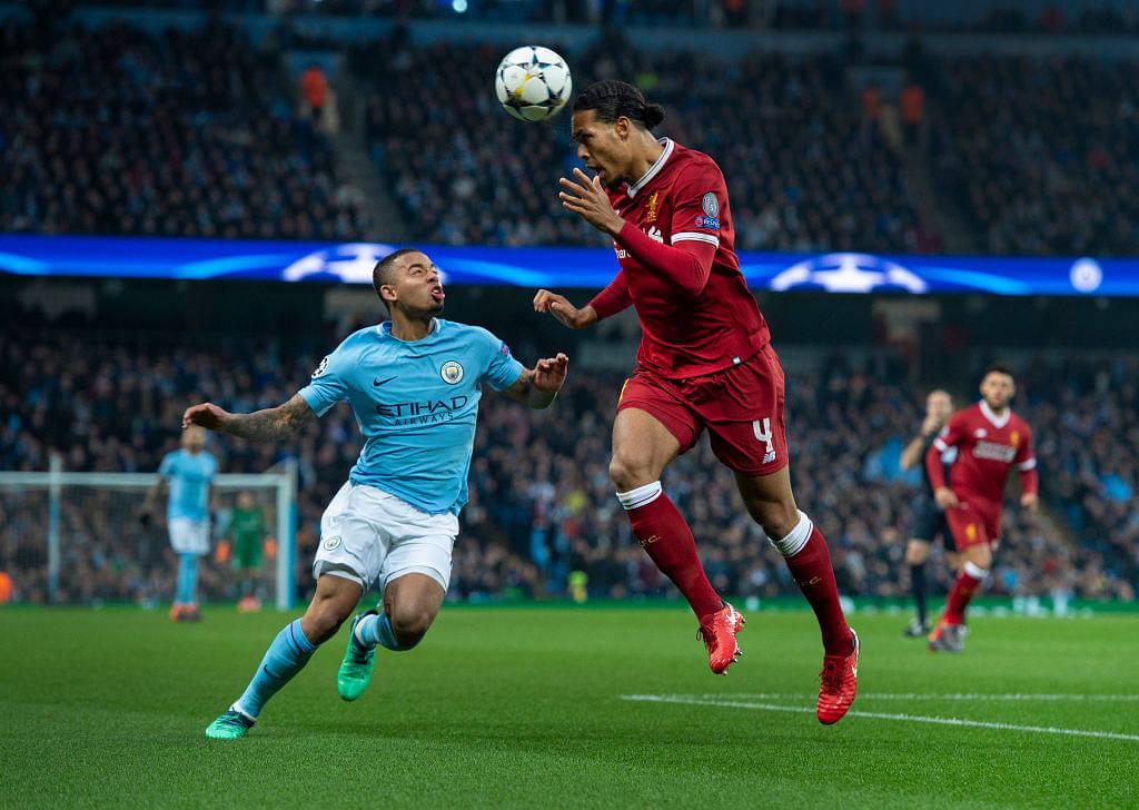 Virgil Van Dijk's record of not been 'dribble past' still stands even after losing to Gabriel Jesus' dribble