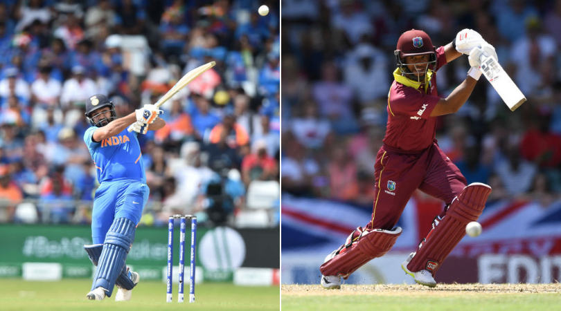 India vs West Indies Head to Head in ODIs