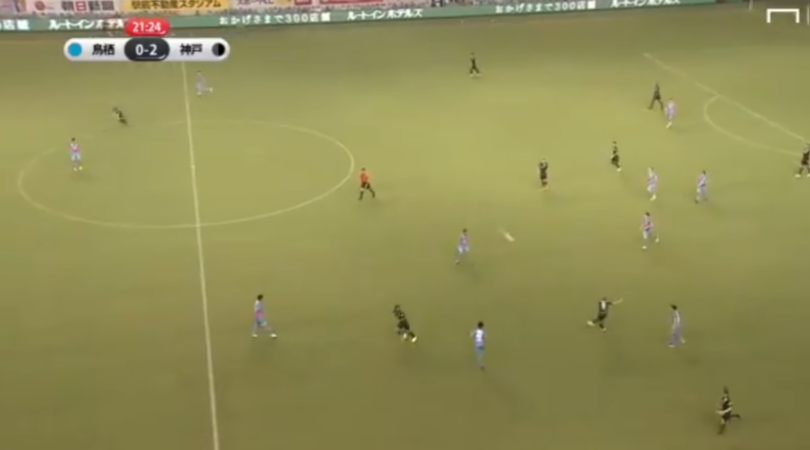 Watch: Andres Iniesta turns back time with a one touch volley that leads to a goal