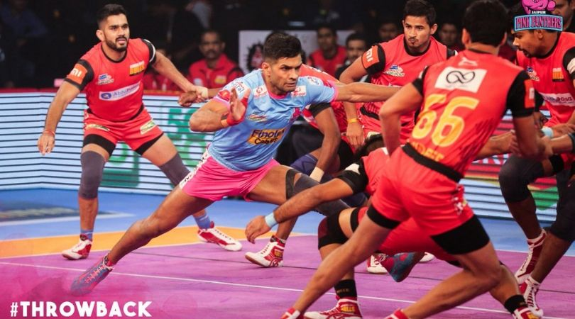 JAI vs UP Dream11 Team Predictions : UP Yoddha Vs Jaipur Pink Panthers Pro Kabaddi 2019 Dream 11 Team Picks, Match Report And Probable Playing 7