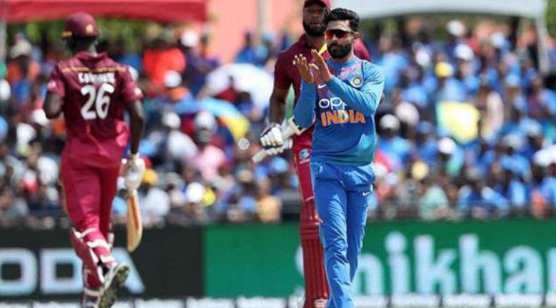 Why is Ravindra Jadeja not playing today's 3rd T20I vs West Indies?