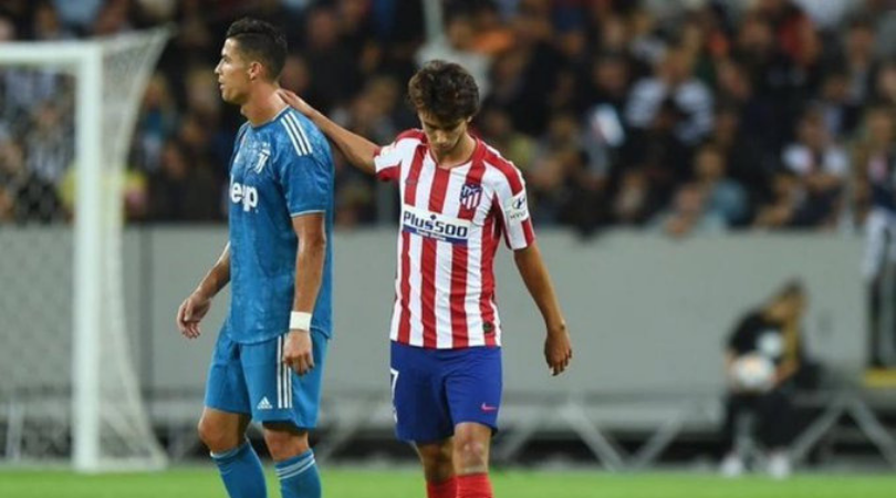 Watch: Joao Felix scores an incredible brace to hand Atletico Madrid a victory over Juventus
