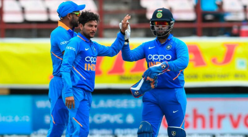 Why is Kuldeep Yadav not playing in today's 3rd ODI vs West Indies?