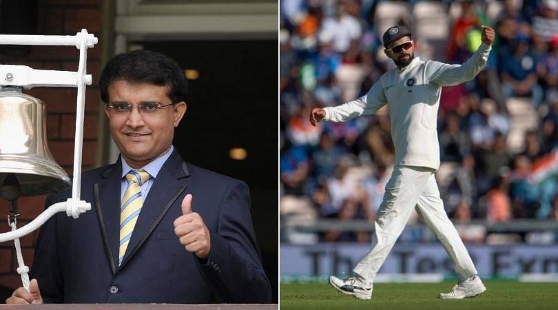 Sourav Ganguly passes huge comment on Virat Kohli on playing Ravi Ashwin and Kuldeep Yadav in Antigua Test