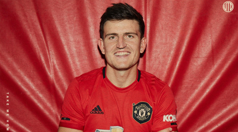 What is the Harry Maguire Shirt Number at Manchester United?