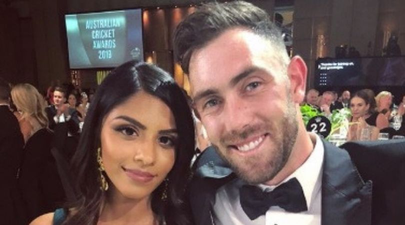Reports: Glenn Maxwell likely to marry Indian girl Vini Raman