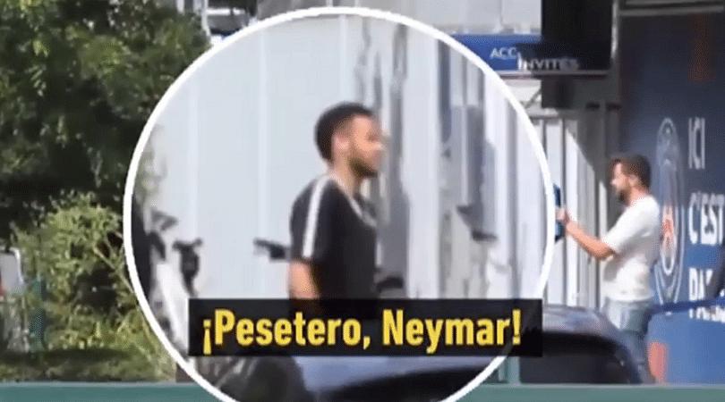 Watch: Neymar called 'Money Grabber' by working staff at PSG