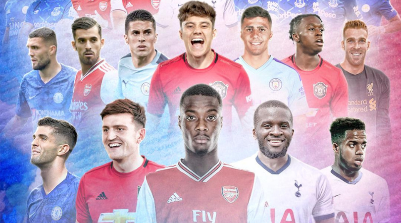 Who are the 5 most expensive transfers this summer in the Premier League?