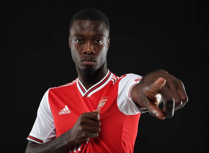Nicolas Pepe: Arsenal confirm capture of £72 million forward from Lille