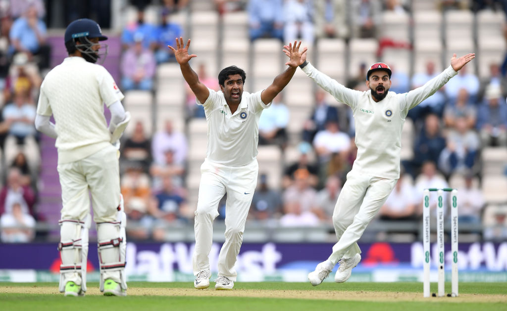 Is Ravi Ashwin playing in today's 2nd Test vs West Indies in Jamaica?