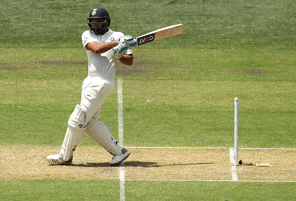 Why is Rohit Sharma not playing today's first Test between West Indies and India?