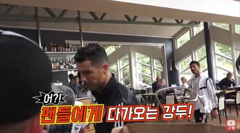 South Korean Fan goes all the way to Sweden to question Cristiano Ronaldo about his Juventus no-show
