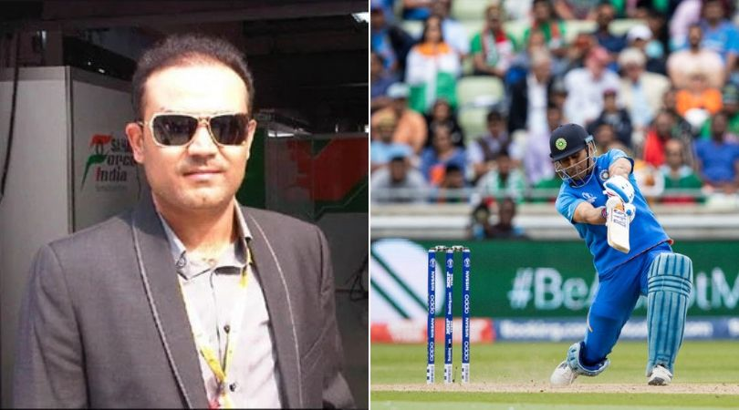 Virender Sehwag believes MS Dhoni should have batted 'up the order' during 2019 World Cup semi-final vs New Zealand