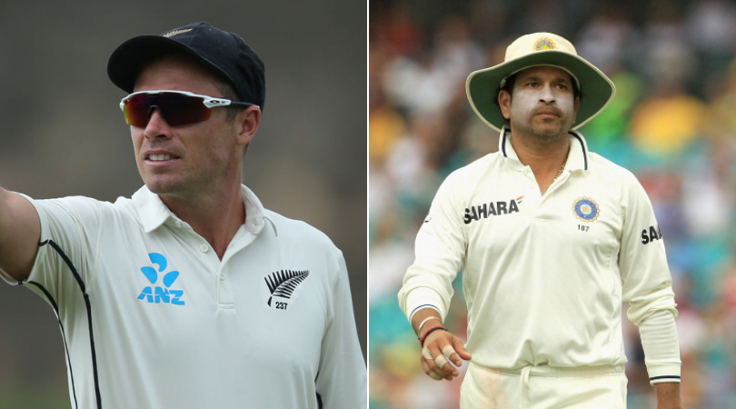 Tim Southee equals Sachin Tendulkar's record of most sixes in Test matches