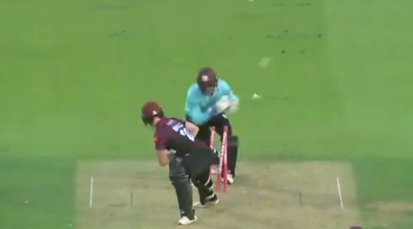 MS Dhoni's fans slam Surrey for their stumping tweet on Ben Foakes