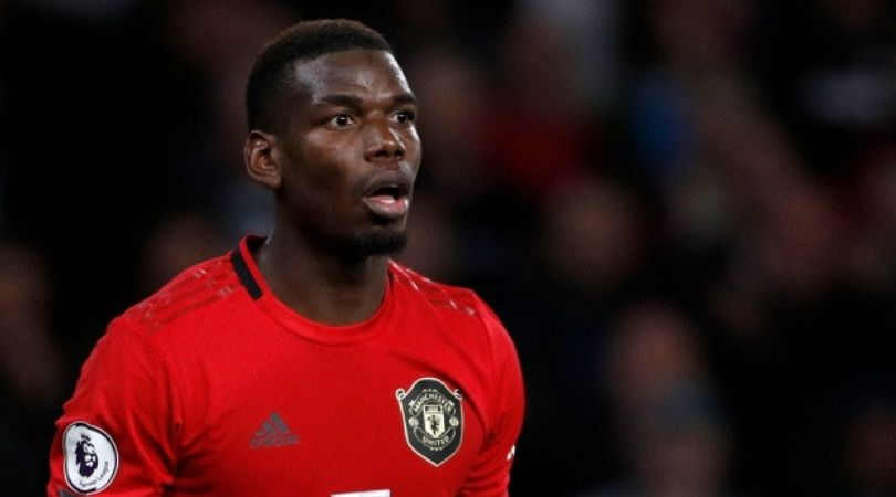 Paul Pogba Transfer: Manchester United fans inscribe 'Pogba out' outside Carrington