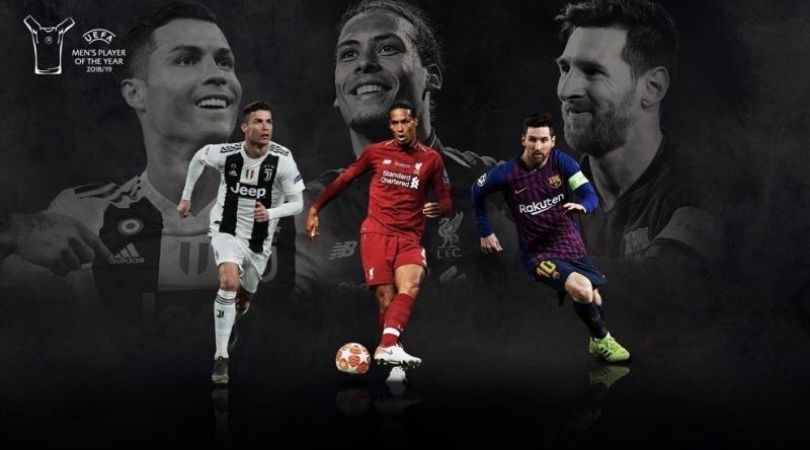 UEFA player of the year date and live telecast in India