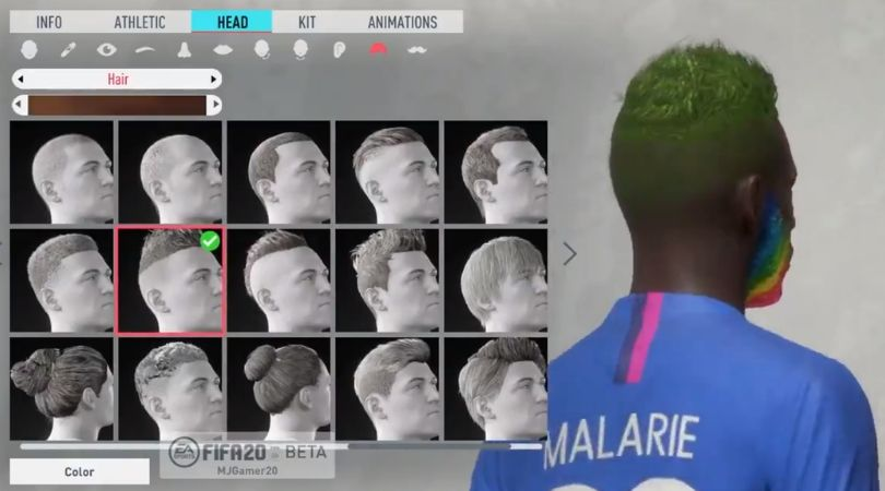 FIFA20 Pro club will allow to customize your virtual players at a more detailed level